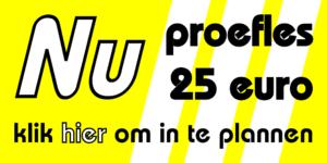 proefles nu 25 euro